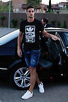 Sergio Rico arrives at Soccer City training facility for a Spanish soccer team concentration meeting in Las Rozas, near Madrid, Spain. September  01, 2015. (ALTERPHOTOS/Victor Blanco)