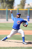 Marcos Mateo, Chicago Cubs 2010 minor league spring training..Photo by:  Bill Mitchell/Four Seam Images.