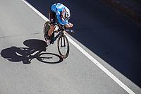 Wout van Aert (BEL/Willems Veranda's-Crelan) during his ITT<br /> <br /> Baloise Belgium Tour 2017<br /> Stage 3: ITT Beveren - Beveren (13.4km)