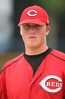 August 14, 2008: Tyler Cline (21) of the GCL Reds.  Photo by: Chris Proctor/Four Seam Images