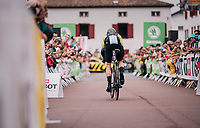 Mathew Hayman (AUS/Mitchelton-Scott) rolling out<br /> <br /> Stage 20 (ITT): Saint-Pée-sur-Nivelle >  Espelette (31km)<br /> <br /> 105th Tour de France 2018<br /> ©kramon