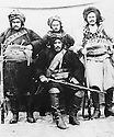 Irak 1920?.Chef kurde avec sa garde.Iraq 1920?.Kurdish chief with his bodyguard