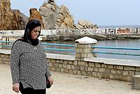 Tabarka, Tunisia, 18 Settembre 2018<br /> Il lungomare di Tabarka con i caratteristici faraglioni