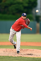 Oklahoma City RedHawks pitcher David Martinez (25) delivers a pitch during a game against the Memphis Redbirds on May 23, 2014 at AutoZone Park in Memphis, Tennessee.  Oklahoma City defeated Memphis 12-10.  (Mike Janes/Four Seam Images)