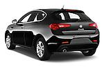 Car pictures of rear three quarter view of 2015 Alfa Romeo Giulietta Distictive 5 Door SUV angular rear