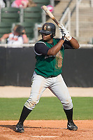 Augusta first baseman Pablo Sandoval stands in to take his swings versus the Kannapolis Intimidators at Fieldcrest Cannon Stadium in Kannapolis, NC, Sunday, June 18, 2006.