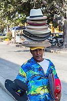 Cartagena, Colombia.  Hat Salesman.