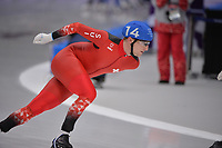 OLYMPIC GAMES: PYEONGCHANG: 24-02-2018, Gangneung Oval, Long Track, Mass Start Men, Livio Wenger (SUI), ©photo Martin de Jong