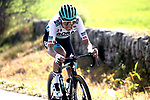 Lennard Kamna (GER) Bora-Hansgrohe attacks during Stage 5 of the 100th edition of the Volta Ciclista a Catalunya 2021, running 201.1km from La Pobla de Segur to Manresa, Spain. 26th March 2021.   <br /> Picture: Bora-Hansgrohe/Luis Angel Gomez/BettiniPhoto | Cyclefile<br /> <br /> All photos usage must carry mandatory copyright credit (© Cyclefile | Bora-Hansgrohe/Luis Angel Gomez/BettiniPhoto)