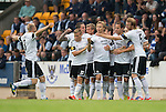 St Johnstone v Rosenborg....25.07.13  Europa League Qualifier<br /> Alexander Soderlund celebrates his goal<br /> Picture by Graeme Hart.<br /> Copyright Perthshire Picture Agency<br /> Tel: 01738 623350  Mobile: 07990 594431