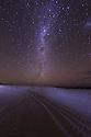 The milky Way at Sleaford Bay. Eyre Peninsula. South Australia.
