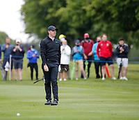 3rd July 2021; Mount Juliet Golf Club, Kilkenny, Ireland; Dubai Duty Free Irish Open Golf, Day Three; Rory Mcilroy of Northern Ireland watches his second shot on the 2nd fairway