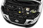 Car Stock 2016 Nissan NV400 Acenta 4 Door Cargo Van Engine  high angle detail view
