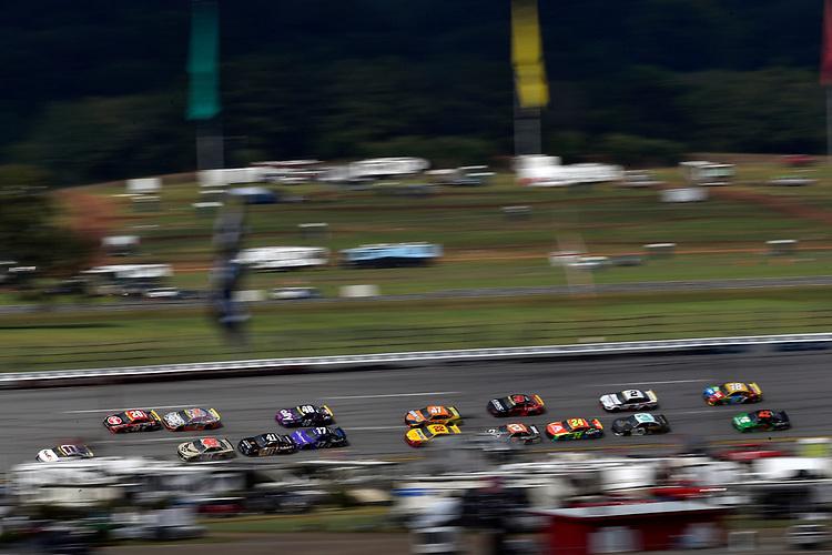 #11: Denny Hamlin, Joe Gibbs Racing, Toyota Camry FedEx Express and #20: Christopher Bell, Joe Gibbs Racing, Toyota Camry Rheem
