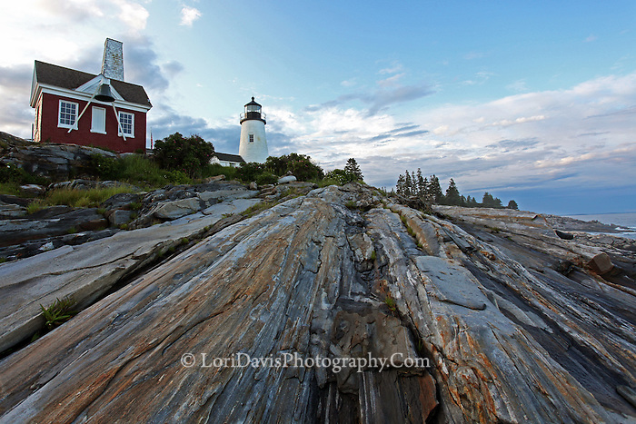 Bell House at Pemaquid Point Light  #LH34
