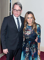 MATTHEW BRODERICK SARAH JESSICA PARKER<br /> AT Irish Repertory Theatre's YEATS<br /> The Celebration of 150th Anniversary of the birth of Nobel Prize poet William Butler Yeats  6-8-2015<br /> Photo By John Barrett/PHOTOlink