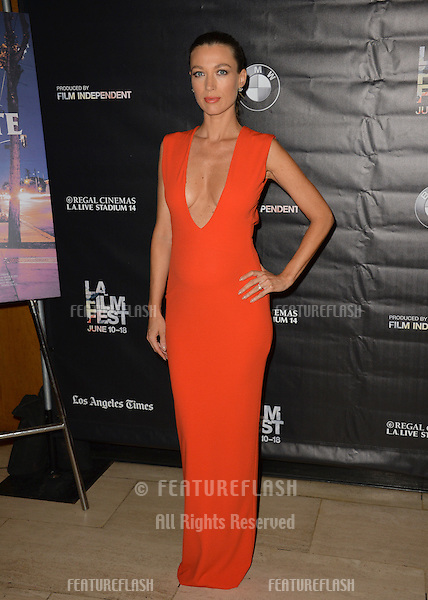 """Natalie Zea at the premiere of """"Too Late"""", part of the LA Film Festival, at the Bing Theatre at LACMA.<br /> June 11, 2015  Los Angeles, CA<br /> Picture: Paul Smith / Featureflash"""