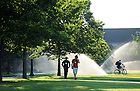 South Quad summer morning..Photo by Matt Cashore/University of Notre Dame