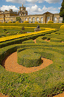 Blenheim Palace - Italian Garden  and Palace