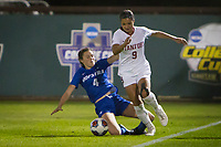 STANFORD, CA - NOVEMBER 22: Stanford, CA - November 22, 2019: Sophia Smith at Laird Q. Cagan Stadium. The Stanford Cardinal defeated Hofstra 4-0 in the second round of the NCAA tournament. during a game between Hofstra and Stanford Soccer W at Laird Q. Cagan on November 22, 2019 in Stanford, California.