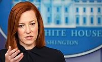 PAR 01 Jen Psaki holds presss briefing at The White House