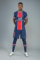 14th October 2020, Paris, France; Official League 1 player portrait for Paris Saint Germain;  KIMPEMBE Presnel