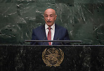 His Excellency Agila Saleh Essa Gwaider, Acting Head of State of Libya<br /> <br /> <br /> 6th plenary meeting High-level plenary meeting of the General Assembly (3rd meeting)