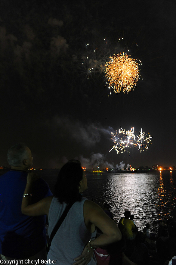 Go Fourth on the River, Fourth of July celebration