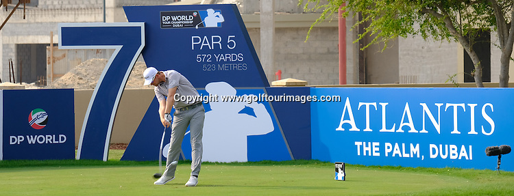 Bernd WIESBERGER (AUT) during round three of the 2016 DP World Tour Championships played over the Earth Course at Jumeirah Golf Estates, Dubai, UAE: Picture Stuart Adams, www.golftourimages.com: 11/19/16