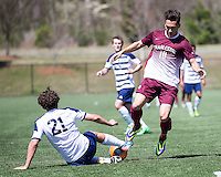 The College of Charleston Cougars played the  Georgia Southern Eagles in The Manchester Cup on April 5, 2014.  The Cougars won 2-0.  Jake Currie (10), Lasse Palomaki (21)