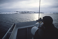 - Norwegian navy, guard on the bridge of a destroyer<br />