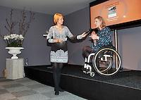 Februari 11, 2015, Netherlands, Rotterdam, Ahoy, ABN AMRO World Tennis Tournament, Esther Vergeer (NED)<br /> Photo: Tennisimages/Henk Koster
