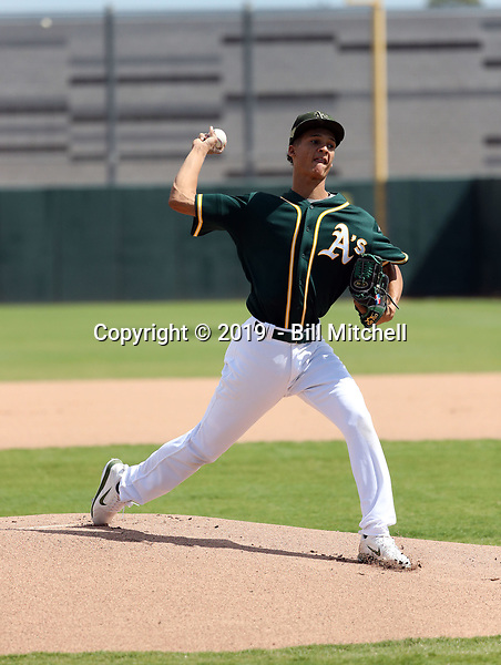 Yehizon Sanchez - 2019 AIL Athletics (Bill Mitchell)