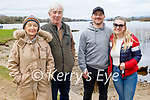 Enjoying a stroll around Ross Castle in Killarney on Sunday, l to r: Geraldine, Liam and Mike Killeen and Fiona Sheahan.