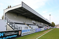 General view of the ground during Arsenal Ladies vs Notts County Ladies, SSE Women's FA Cup Football at Meadow Park on 3rd April 2016