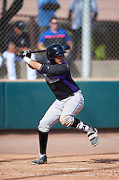 Colorado Rockies Joel Diaz (29) during an Instructional League game against the Arizona Diamondbacks on October 7, 2016 at Salt River Fields at Talking Stick in Scottsdale, Arizona.  (Mike Janes/Four Seam Images)