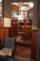 Europe/France/Aquitaine/33/Gironde/Bassin d'Arcachon/ Le Cap Ferret : Maison du Bassin, Hôtel-Restaurant de Charme, le bar [Non destiné à un usage publicitaire - Not intended for an advertising use]