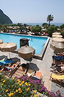 Italien, Ischia, Therme Giardini Poseidon südlich von Forio