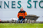 A Kerry supporter watching the action from Kerry v Meath in the National hurling league in Austin Stack Park on Sunday