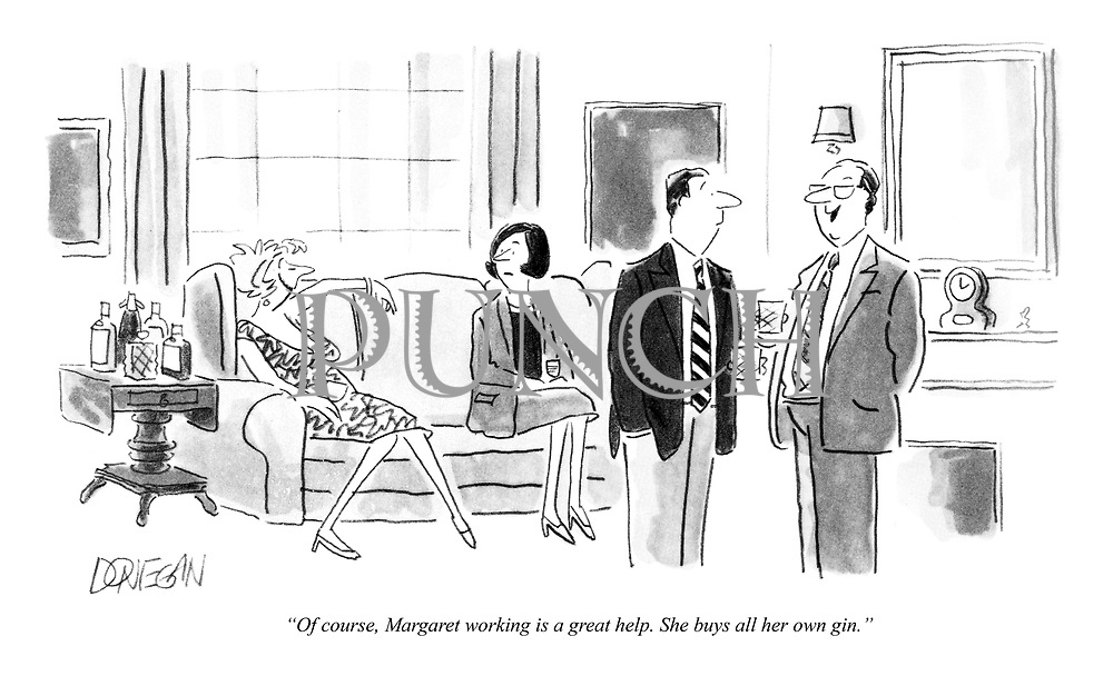 Cartoons on Sex, Sexism, Relationships and Family from
