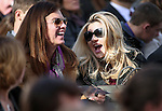 Nevada Assembly Republicans Shelly Shelton, left, and Michele Fiore wait with the crowd for the start of the inaugural ceremony at the Capitol, in Carson City, Nev., on Monday, Jan. 5, 2015. (Las Vegas Review-Journal/Cathleen Allison)