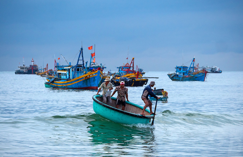 Vietnam with its coastline spanning over 3000km Vietnam is an ideal country to boast a strong seafood industry, including both aquaculture and open ocean fishing. Mũi Né is a coastal fishing town in the Bình Thuận Province of Vietnam. The town, with approximately 25,000 residents is a ward of the city of Phan Thiết. <br /> <br /> Environmental impact on Overfishing:<br /> If no action is taken, in three decades shrimp will be more than three times as expensive, tuna and mackerel will be nearly six times, and grouper will be almost nine times, as expensive. These numbers will have severe economic consequences if nothing is done as fish protein comprises more than 22 percent of the average Asian diet. If such fishing continues unabated, not only will prices rise of food that is essential for the region, but the livelihoods of tens of millions of people involved in the industry whether it be the actual fishing or the processing of caught seafood, are at risk of finding themselves without work.<br /> A Known Problem<br /> Overfishing in East Asia is not a new problem and in the South China Sea, has been known for some time. The problem is multi-faceted. Fish are being caught too young limiting chances for population regrowth and replenishment of fish stocks. As a result, the fish that are being caught are smaller necessitating a greater haul thus reducing the population even further.