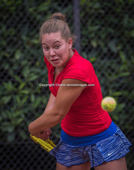 Hilversum, Netherlands, August 12, 2016, National Junior Championships, NJK,  Donnaroza Gouvernante (NED)<br /> Photo: Tennisimages/Henk Koster