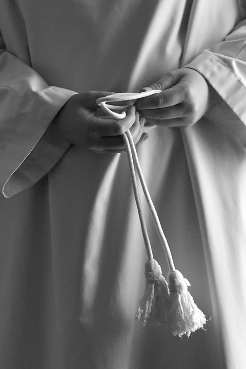 Hands & Tassels At St Eutizio Abbey, Norcia, Italy.