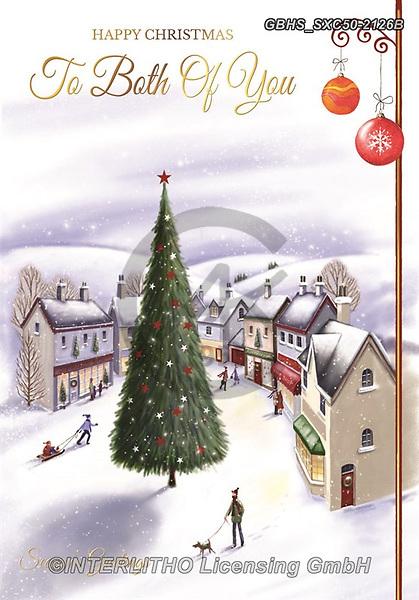 John, CHRISTMAS LANDSCAPES, WEIHNACHTEN WINTERLANDSCHAFTEN, NAVIDAD PAISAJES DE INVIERNO, paintings+++++,GBHSSXC50-2126B,#xl#