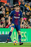 Sergi Roberto Carnicer of FC Barcelona in action during the La Liga 2017-18 match between FC Barcelona and Levante UD at Camp Nou on 07 January 2018 in Barcelona, Spain. Photo by Vicens Gimenez / Power Sport Images