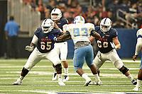 SAN ANTONIO, TX - SEPTEMBER 16, 2017: The University of Texas at San Antonio Roadrunners defeat the Southern University Jaguars 51-17 at the Alamodome. (Photo by Jeff Huehn)