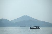 Asie/Inde/Rajasthan/Udaipur: Bateau sur le lac Pichola