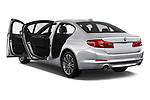 Car images close up view of a 2018 BMW 5 Series 530e iPerformance 4 Door Sedan doors