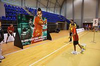 Januari 02, 2015, Rotterdam, Topsport Centrum, Ballkid selection day for the ABNAMRO world tennis tournament upcoming februari in Rotterdam.<br /> Photo: Tennisimages/Henk Koster
